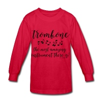 Amazing Trombone - Kids' Long Sleeve T-Shirt