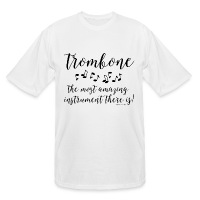 Amazing Trombone - Men's Tall T-Shirt