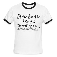 Amazing Trombone - Men's Ringer T-Shirt