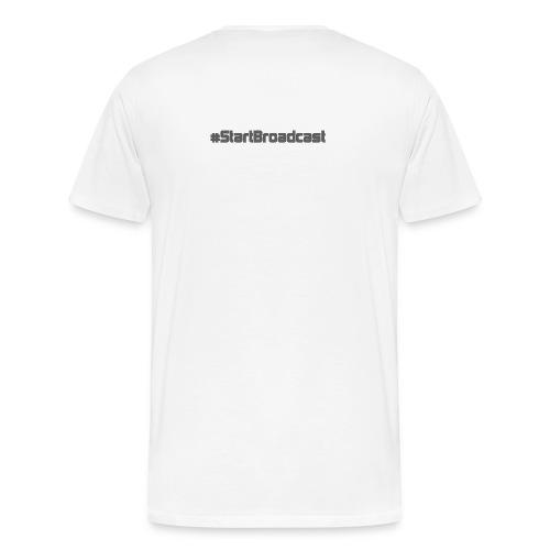 #StartBoradcast - Men's Premium T-Shirt