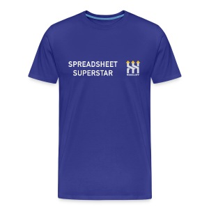 SPREADSHEET SUPERSTAR - Men's Premium T-Shirt