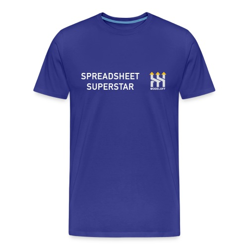 SPREADSHEET SUPERSTAR - Men's Premium T-Shirt