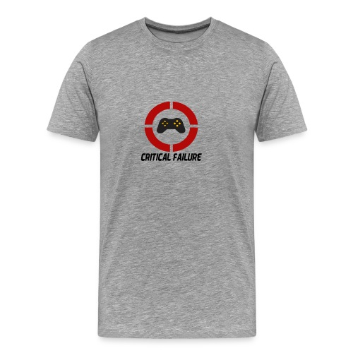 Critical Failure Logo T-Shirt - Men's Premium T-Shirt