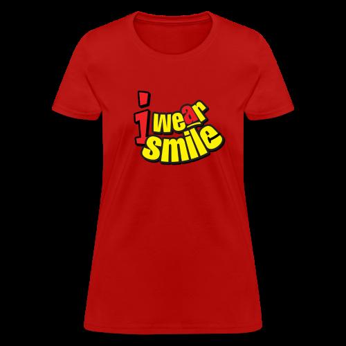 iws tag women tshirt - Women's T-Shirt