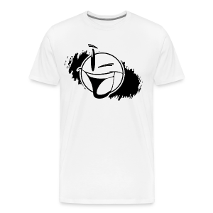 iws black white logo men tshirt - Men's Premium T-Shirt