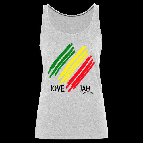 Love Jah - Women's Premium Tank Top