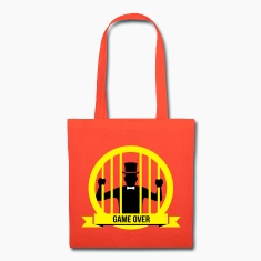 game over bachelor groom party marriage wedding Bags & backpacks