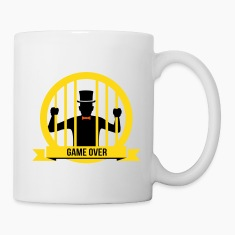 game over bachelor groom party marriage wedding Mugs & Drinkware