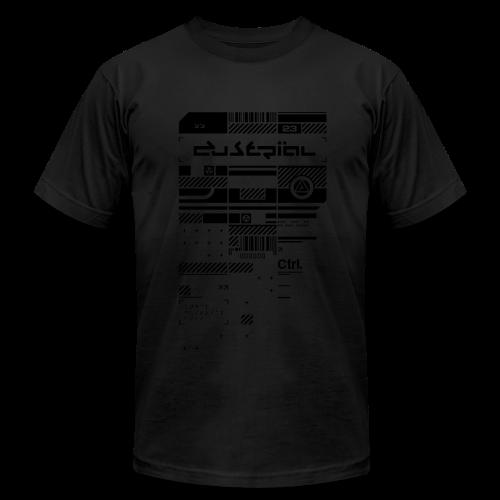 XERODUSTRIAL BLVCK  AMERICAN APPAREL T-SHIRT - Men's Fine Jersey T-Shirt