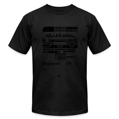 XERODUSTRIAL BLVCK  AMERICAN APPAREL T-SHIRT - Men's  Jersey T-Shirt