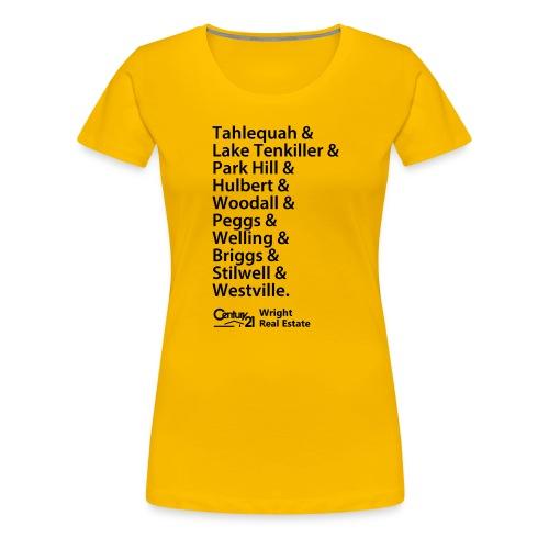 & Shirt - Yellow - Women's Premium T-Shirt