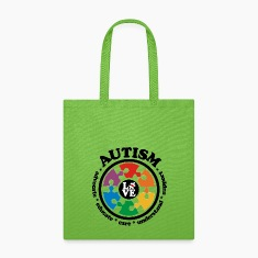LOVE Autism Awareness - Tote Bag