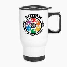 LOVE Autism Awareness - Travel Mug