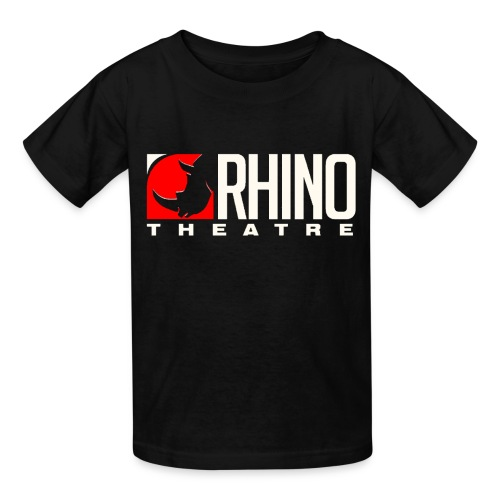 Rhino Theatre Youth Black Tee - Kids' T-Shirt