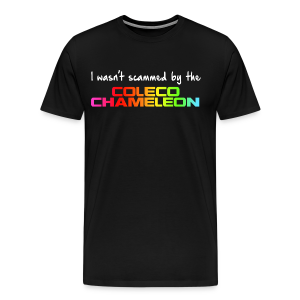 I wasn't scammed by... - Men's Premium T-Shirt