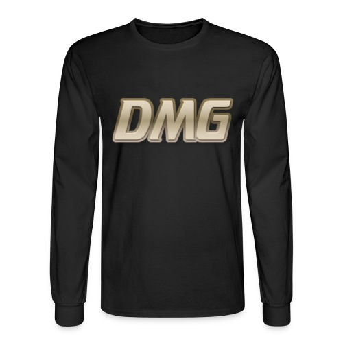 All Black Mens Long Sleeve Shirt - Men's Long Sleeve T-Shirt