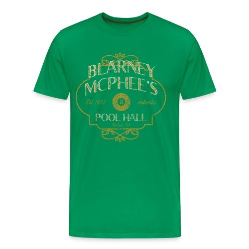 Blarney McPhee's Pool Hall - Men's Premium T-Shirt