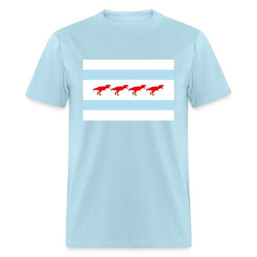 Chicago T-rex - Men's T-Shirt