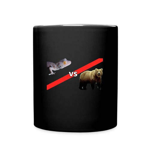Gecko VS Bear - Mug - Full Color Mug