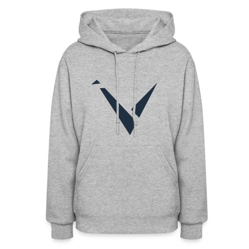 Vexento Hoodie (Womens) [Grey] - Women's Hoodie