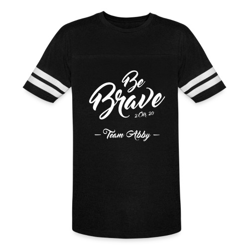 Unisex Be Brave Vintage Tee - Vintage Sport T-Shirt