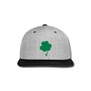 Gray and Black St. Patricks Hat - Snap-back Baseball Cap