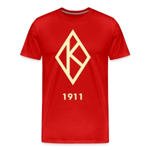 Men's Krimson and Kream Kappa Diamond Tee - Men's Premium T-Shirt