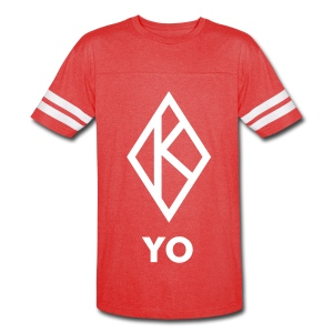 Red and White Kappa YO vintage shirt - Vintage Sport T-Shirt