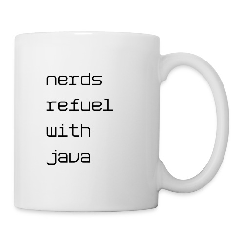Nerds refuel with Java mug - Coffee/Tea Mug