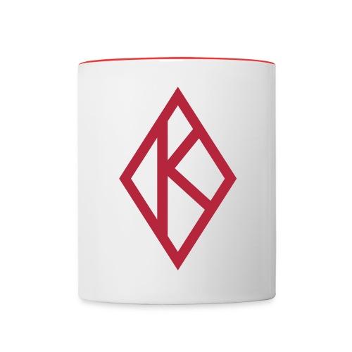 Kappa Koffee Mug - Contrast Coffee Mug