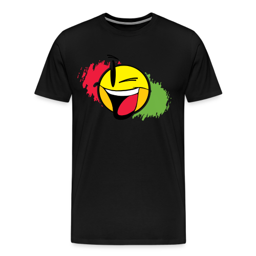 IWS Shirt Logo Color - Red/Green - Men - Men's Premium T-Shirt