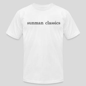 the sunman branded tee - Men's Fine Jersey T-Shirt