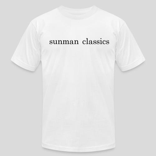 the sunman branded tee - Men's  Jersey T-Shirt