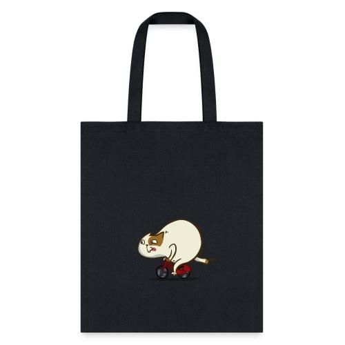Bicycat — Friday Cat №46 - Tote Bag