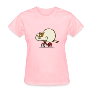 Bicycat — Friday Cat №46 - Women's T-Shirt
