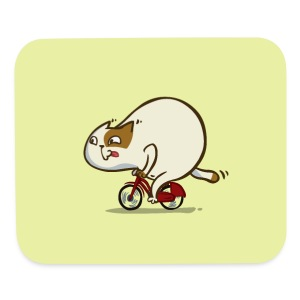 Bicycat — Friday Cat №46 - Mouse pad Horizontal