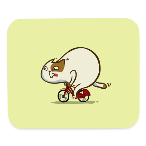 Bicycat — Friday Cat №46 - Mouse pad Horizontal