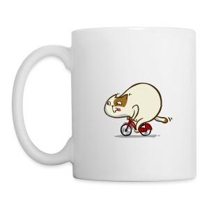 Bicycat — Friday Cat №46 - Coffee/Tea Mug