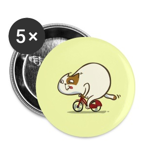 Bicycat — Friday Cat №46 - Small Buttons