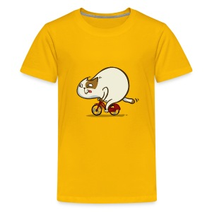 Bicycat — Friday Cat №46 - Kids' Premium T-Shirt