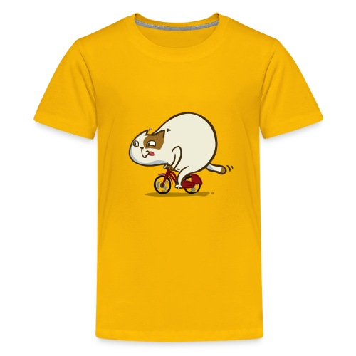 Bicycat — Friday Cat №46 - Kids' Premium T-Shirt