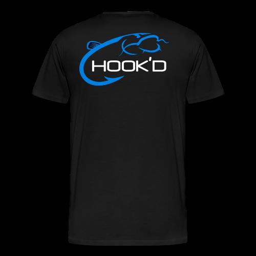 flathead catfishing shirt - HOOK'D - Men's Premium T-Shirt