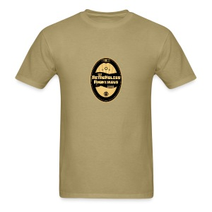 Retroholics Anonymous Mens Shirt - Cream - Men's T-Shirt