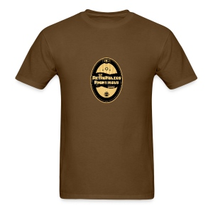 Retroholics Anonymous Mens Shirt - Brown - Men's T-Shirt