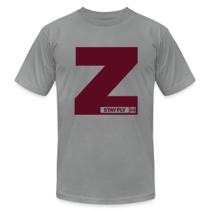 Stay Fly 1 Color Z Edition - Men's T-Shirt by American Apparel