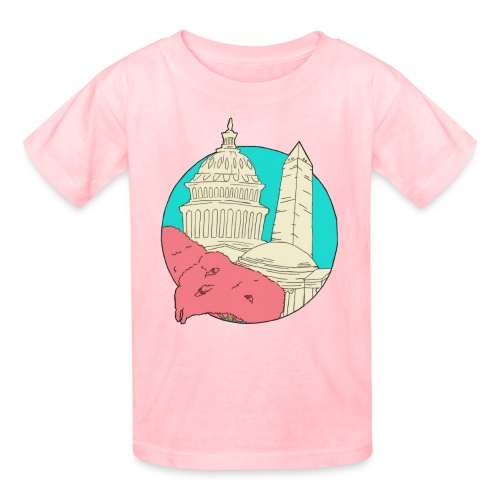My City Collection - Washington, DC (Kids) - Kids' T-Shirt