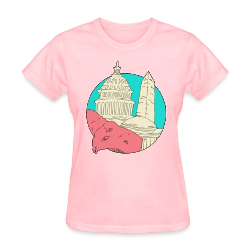 My City Collection - Washington, DC (Women's) - Women's T-Shirt