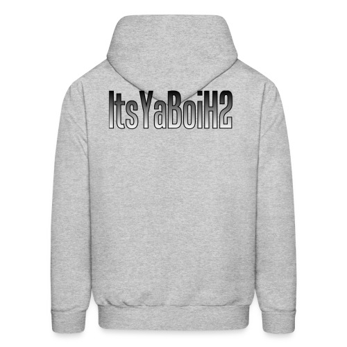 The Mon-U-Mental/ItsYaBoiH2 on back Hoodie - Men's Hoodie
