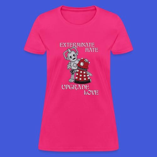 Exterminate Hate (Womens) - Women's T-Shirt