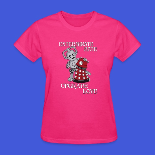 Exterminate Hate (Womens) - Women's T-Shirt